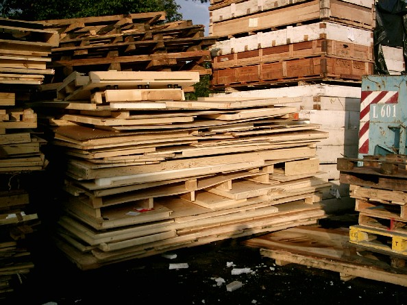 Lee Wung Wooden Boxes Recycled Pallet Collection Waste Wood Disposal